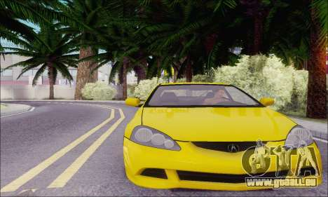 Acura RSX pour GTA San Andreas sur la vue arrière gauche