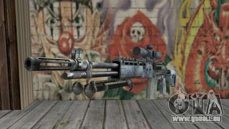 M14 EBR Blue Tiger für GTA San Andreas