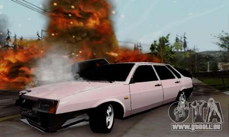 VAZ 21099 Hobo pour GTA San Andreas