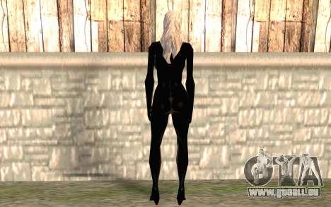 Chat noir HD pour GTA San Andreas deuxième écran