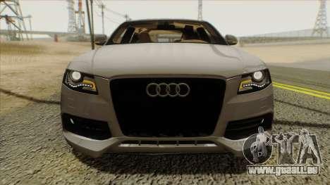Audi S4 pour GTA San Andreas vue de droite