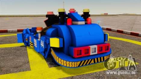 Lego Car Blade Runner Spinner [ELS] für GTA 4 hinten links Ansicht