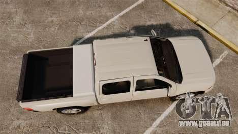 Chevrolet Silverado 1500 2010 pour GTA 4 est un droit