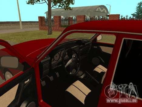 GAZ Wolga 31105 für GTA San Andreas Innenansicht