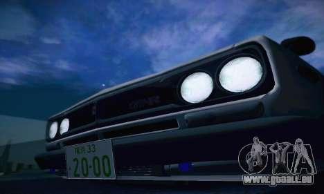 Nissan Skyline 2000GTR 1967 Hellaflush für GTA San Andreas