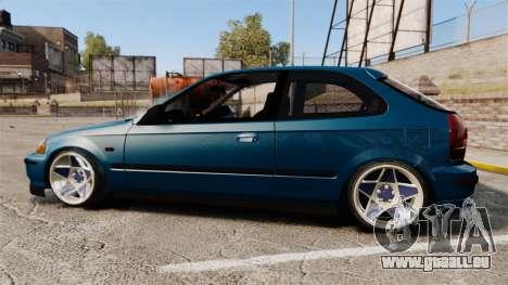 Honda Civic EK pour GTA 4 est une gauche