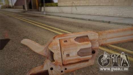 Colt Peacemaker (Chrome) pour GTA San Andreas deuxième écran
