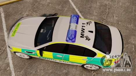BMW M5 Ambulance [ELS] pour GTA 4 est un droit