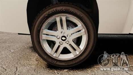 Chevrolet Silverado 1500 2010 pour GTA 4 Vue arrière