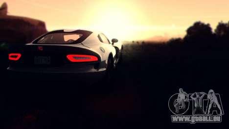 Sonic Unbelievable Shader v7.1 (ENB Series) für GTA San Andreas zweiten Screenshot