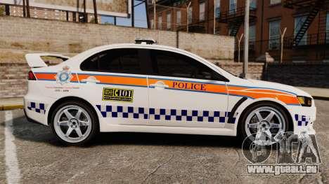 Mitsubishi Lancer Evo X Humberside Police [ELS] für GTA 4 linke Ansicht