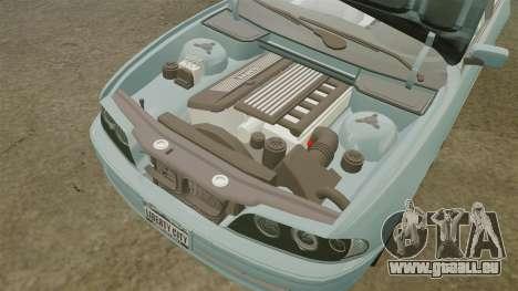 BMW 525i (E39) pour GTA 4 est un côté