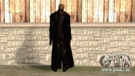 Albert Wesker dans le manteau pour GTA San Andreas deuxième écran