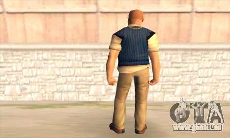 Jimmy Hopkins pour GTA San Andreas deuxième écran
