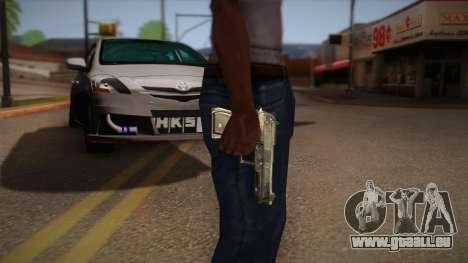 Die Waffe aus den Max Payne für GTA San Andreas zweiten Screenshot