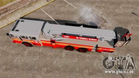 MTL Firetruck Tower Ladder [ELS-EPM] pour GTA 4 est un droit