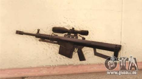 Barrett von Call of Duty MW2 für GTA San Andreas zweiten Screenshot