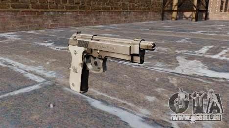 Pistolet semi-automatique Beretta pour GTA 4