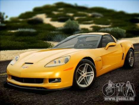 Chevrolet Corvette Z06 2006 v2 pour GTA San Andreas