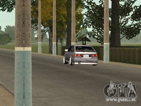 Toyota Corolla GTS Drift Edition für GTA San Andreas Rückansicht