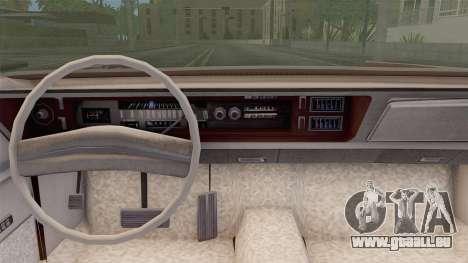 Chrysler New Yorker 4 Door Hardtop 1971 für GTA San Andreas zurück linke Ansicht