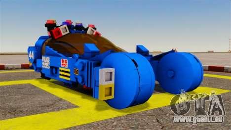 Lego Car Blade Runner Spinner [ELS] für GTA 4