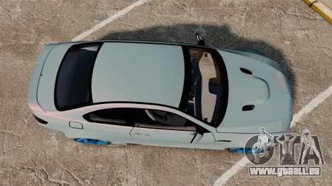 BMW M3 GTS Widebody für GTA 4 rechte Ansicht