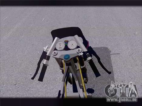 Suzuki Satria FU für GTA San Andreas Rückansicht