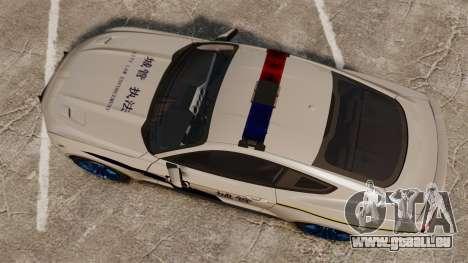 Ford Mustang GT 2015 Cheng Guan Police für GTA 4 rechte Ansicht