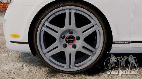 Bentley Continental SS v3.0 pour GTA 4 Vue arrière