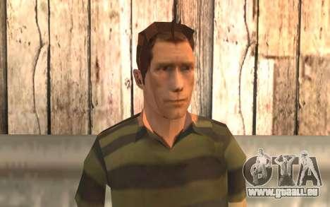 Homme sable pour GTA San Andreas troisième écran