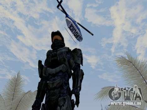 Master Chief pour GTA San Andreas quatrième écran