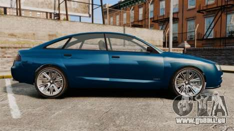 GTA V Tailgater (Michael Car) für GTA 4 linke Ansicht