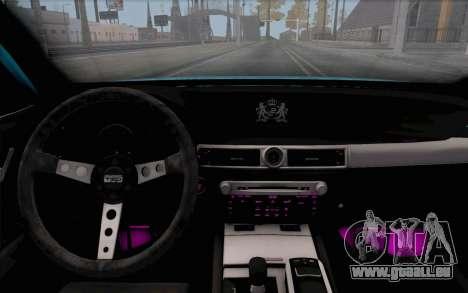 Toyota Aristo pour GTA San Andreas vue de droite