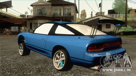 Nissan Sil80 pour GTA San Andreas laissé vue
