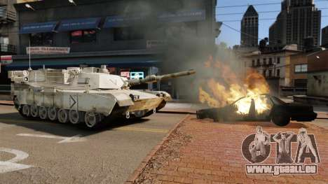 Skript-Tank V-Style für GTA 4 dritte Screenshot