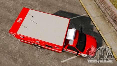 Ford E-350 LAFD Ambulance [ELS] pour GTA 4 est un droit