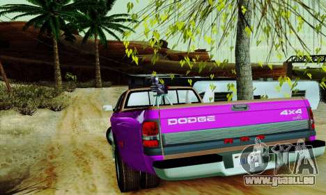 Dodge Ram 3500 pour GTA San Andreas salon