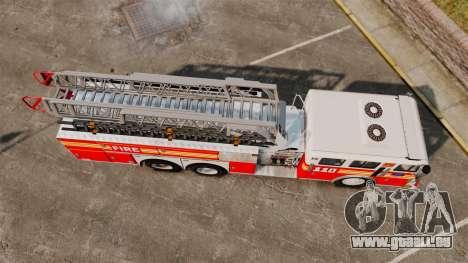 MTL Firetruck MDH1000 Midmount Ladder FDNY [ELS] für GTA 4 rechte Ansicht