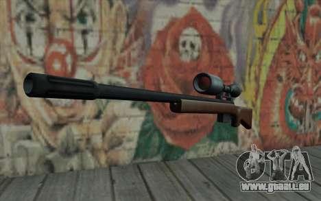 Sniper Rifle HD für GTA San Andreas