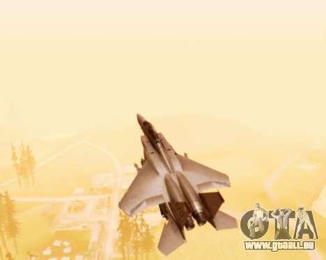 F-15E Strike Eagle für GTA San Andreas obere Ansicht