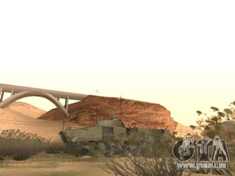 BMP-3 pour GTA San Andreas vue intérieure