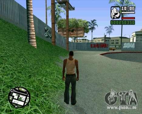 Nouveau HD Skate Park pour GTA San Andreas huitième écran