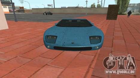 Monroe von GTA 5 für GTA San Andreas zurück linke Ansicht