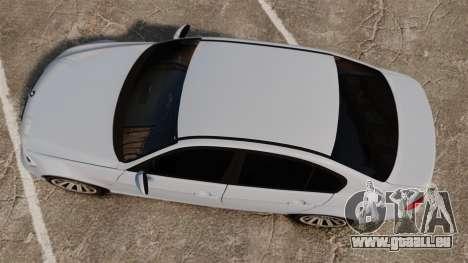 BMW 330i Unmarked Police [ELS] pour GTA 4 est un droit