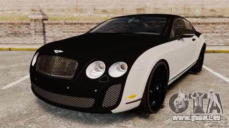 Bentley Continental SS v3.0 pour GTA 4