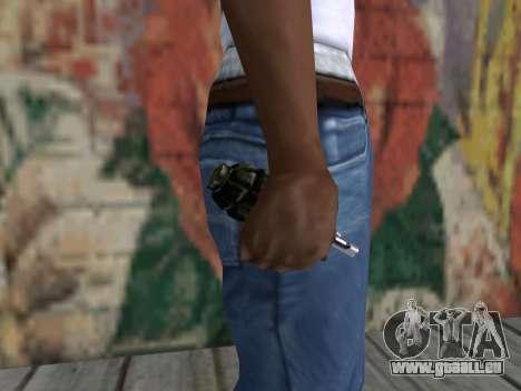Grenade de S.T.A.L.K.E.R. pour GTA San Andreas troisième écran