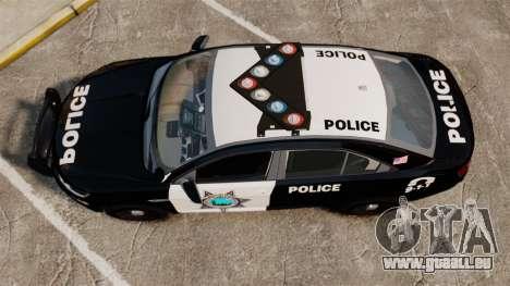 Ford Taurus Liberty State Police pour GTA 4 est un droit