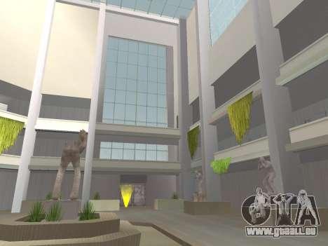 Texture améliorée intérieur « atrium » pour GTA San Andreas troisième écran