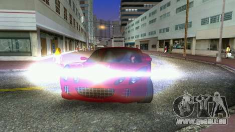Lotus Elise für GTA Vice City Innenansicht